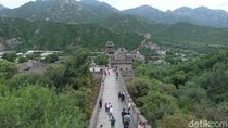 Foto: Penampakan Tembok Besar China Bagian Juyongguan