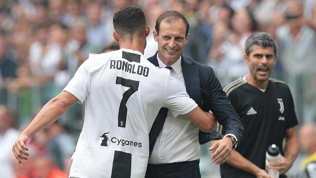 Ronaldo Gagal Menangi Ballon dOr 2018, Allegri Juga Kecewa