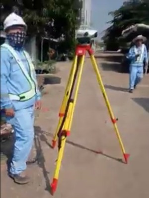Polisi Cek Video Viral WN China Ukur Tanah di Bekasi