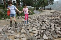China & Hong Kong Mulai Berbenah Pasca-Serbuan Topan Mangkhut