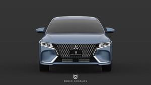 Setuju Gak, Desain Mitsubishi Galant Ini Keren?