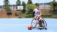 Tembakan Tiga Angka Donald Santoso Dari Kursi Roda