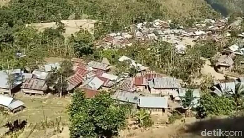 Ilustrasi desa di Kabupaten Bima (Harianto/detikTravel)