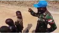 Menhan Cek Video Viral Tentara RI Ajari Bocah Afrika Kata Kasar