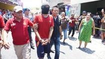 Sumpah Serapah Warnai Rekonstruksi Pembunuhan di Resos SK Semarang
