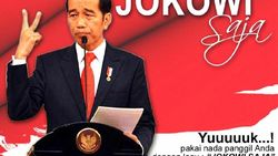 Timses Jokowi Bantah Bikin RBT Jokowi Saja