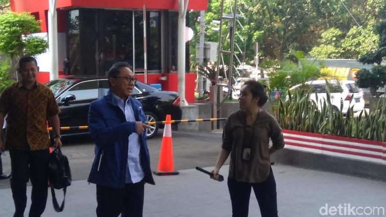 Zulkifli Hasan ke KPK, Diperiksa Soal Apa?
