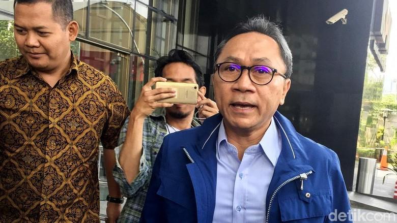 KPK: Zulkifli Hasan Diperiksa Terkait Kasus Bupati Lampung Selatan