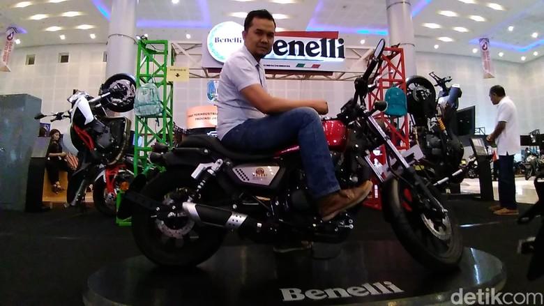 Benelli di GIIAS Surabaya 2018. Foto: Deny Prastyo Utomo