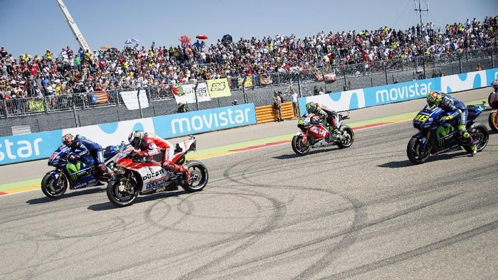 Jadwal MotoGP Aragon. (Foto: Mirco Lazzari gp/Getty Images)