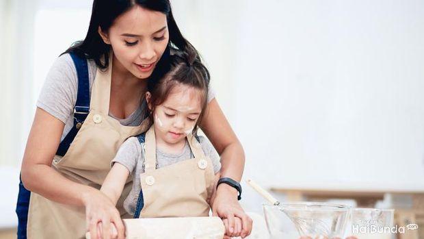 Ilustrasi ajari anak pola hidup sehat