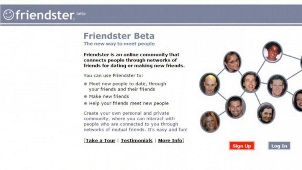 Friendster didirikan pada tahun 2002 dan sempat sangat populer, salah satunya di Indonesia, bahkan menjadi media sosial pertama yang punya 1 juta pengguna. Friendster efektif mati walaupun secara resmi cuma istirahat sejak Juni 2015. (Foto: Friendster)