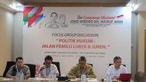 TKN Jokowi-Maruf Diskusi Aturan Main Kampanye dengan Bawaslu