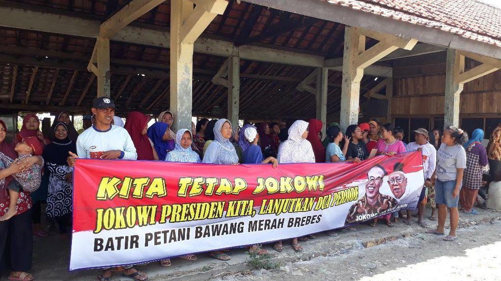 Dituding Gagal, Petani Bawang Brebes Justru Dukung Jokowi Lagi