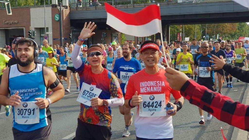 Dian Sastro dan Hesti Purwadinata di Antara Ratusan WNI di Berlin Marathon