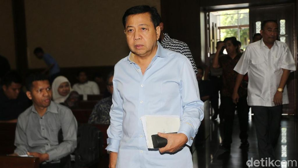 Setya Novanto Disebut Jalani Pengobatan di RSPAD, Apa Saja Sakitnya?