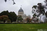 Melbourne punya berbagai taman yang cantik (Shinta Angriyana/detikcom)