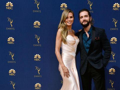 Heidi Klum dan Tom di Emmy Awards 2018.