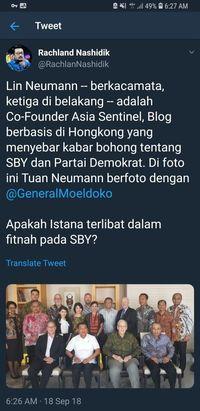 Moeldoko Jawab Tudingan Memfitnah SBY