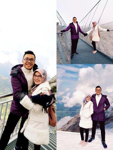 Kisah cinta dokter Gia Pratama dan istrinya, Syafira