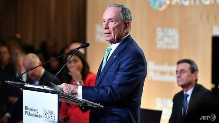 Michael Bloomberg is considering a 2020 White House run as a Democrat, but its unclear whether that party would see the billionaires candidacy in a positive light AFP/JOSH EDELSON