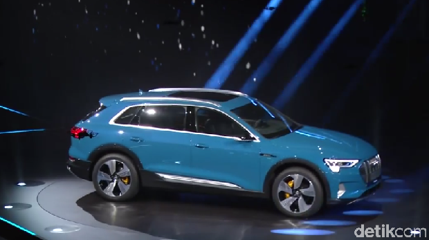 Untuk kelas SUV Audi sudah punya SUV listrik Audi e-Tron