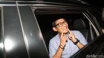 Sandi Soal Prabowo Janji RI Tak Impor: Kita Harus Realistis