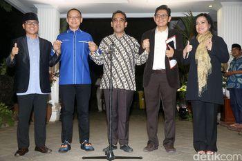 Momen Kubu Prabowo Launching Nama 'Koalisi Indonesia Adil Makmur'