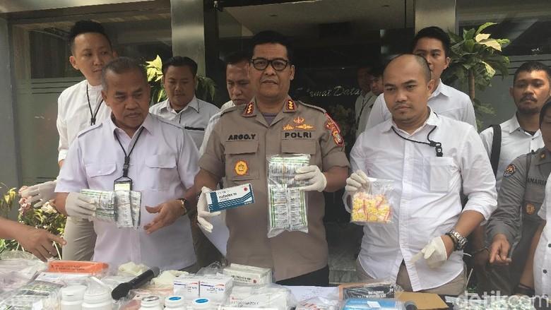 Polisi Amankan 15.367 Pil yang Dipakai Remaja Doping Tawuran