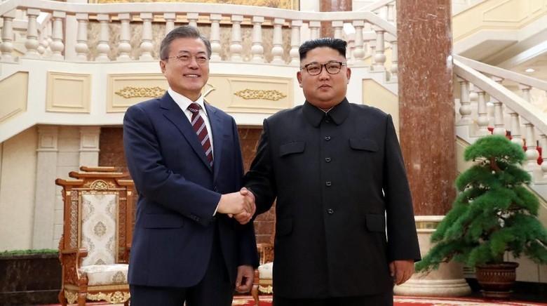 Bertemu Presiden Korsel, Kim Jong-Un: Saya Menunggu-nunggu Ini