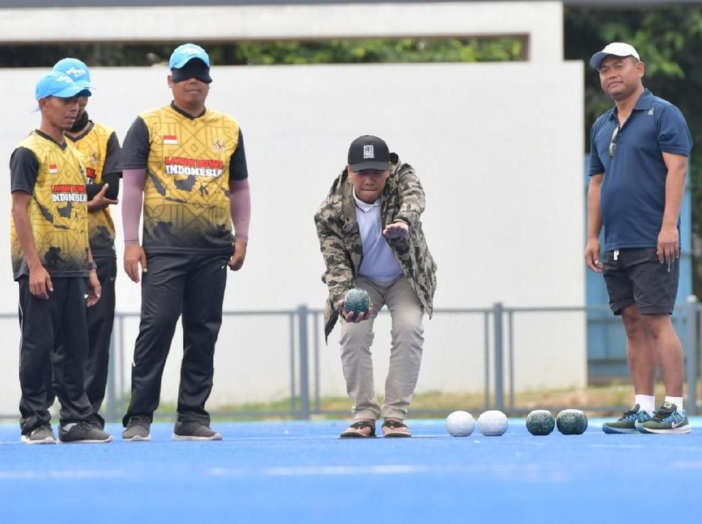 Ini Pesan Menpora untuk Atlet Lawn Ball di Asian Para Games 2018