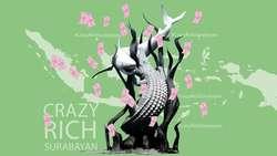 Melawan dengan Tagar Crazy Rich Surabayan