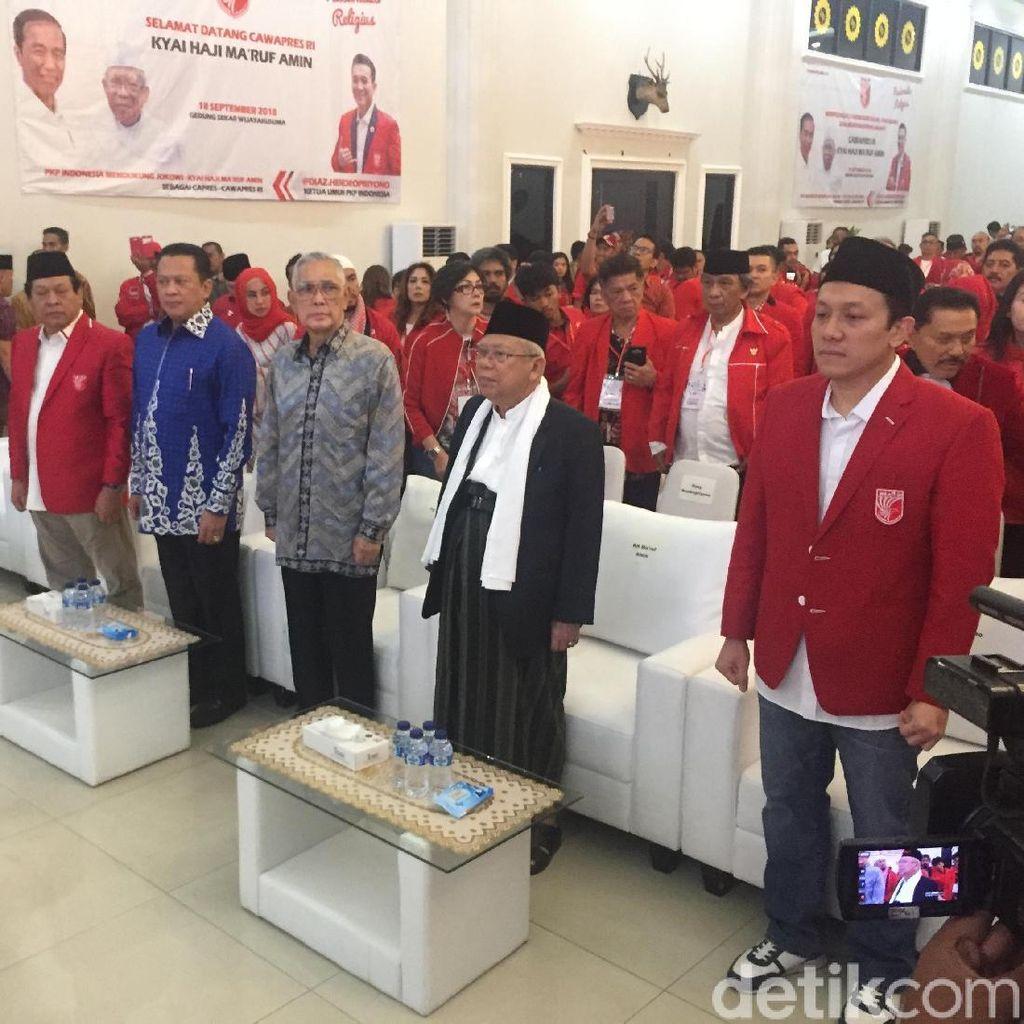 PKPI Gelar Peringatan 1 Muharram, Maruf Amin hingga Bamsoet Hadir