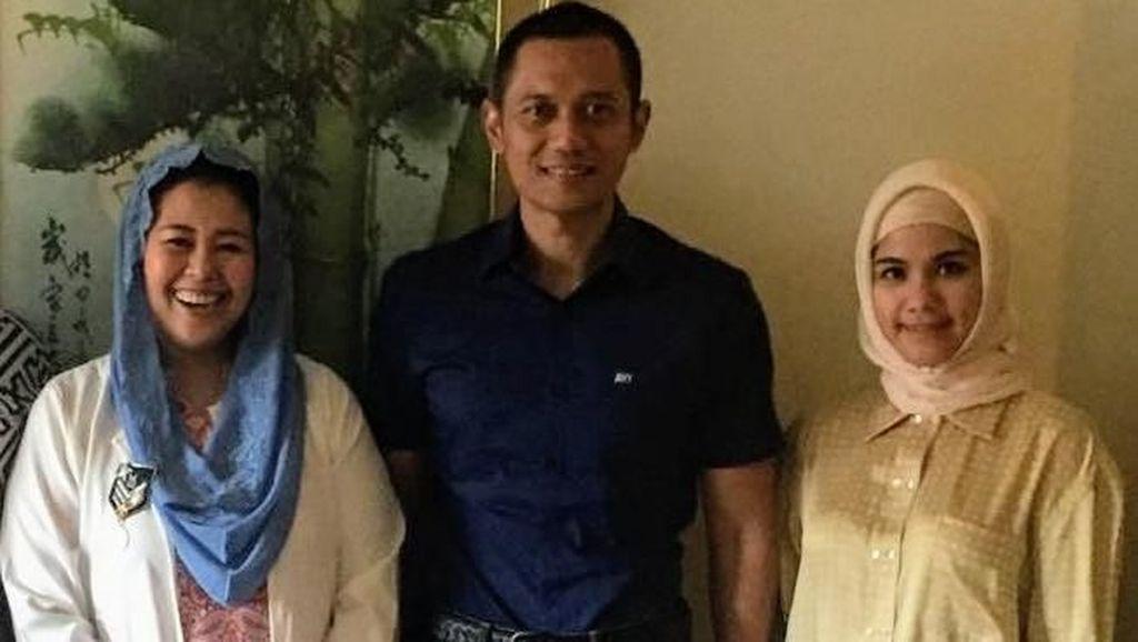 AHY Bertemu Yenny Wahid, Apa yang Dibahas?