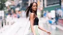 Foto: Liburannya Model Eksotis Melie Tiacoh