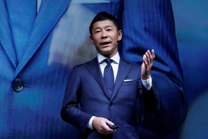 Yusaku Maezawa. Foto: Reuters