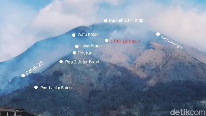 Diguyur Hujan, Kebakaran di Gunung Sumbing Akhirnya Padam