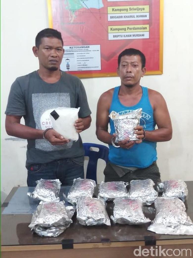 2 Petani Ditangkap di Aceh, 11 Kg Sabu Disita