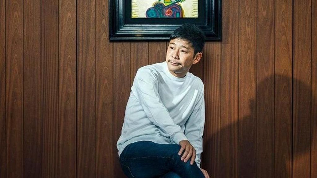 Triliuner Jepang Batalkan Sayembara Cari Pacar untuk Diajak ke Bulan