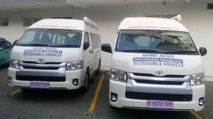 Mobil Akses Penyandang Disabilitas untuk Atlet Asian Para Games