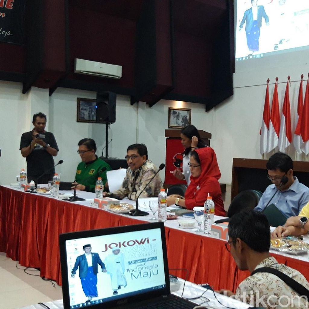 Ini Susunan Tim Pemenangan Jokowi-Maruf Amin di Jatim