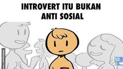 Komik Kocak Ramaikan Ku Kira Aku Introvert, Perasaan Kamu Terwakili?