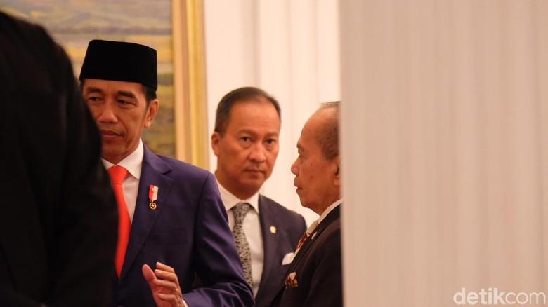 Bertemu Waketum PD, Jokowi Sampaikan Salam Hormat ke SBY