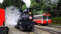 Lokomotif tua di Alishan Forest Railway (Maggie Wong/CNN Travel)