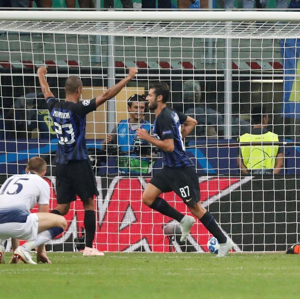 Hasil Liga Champions: Inter Menang Dramatis 2-1 atas Spurs