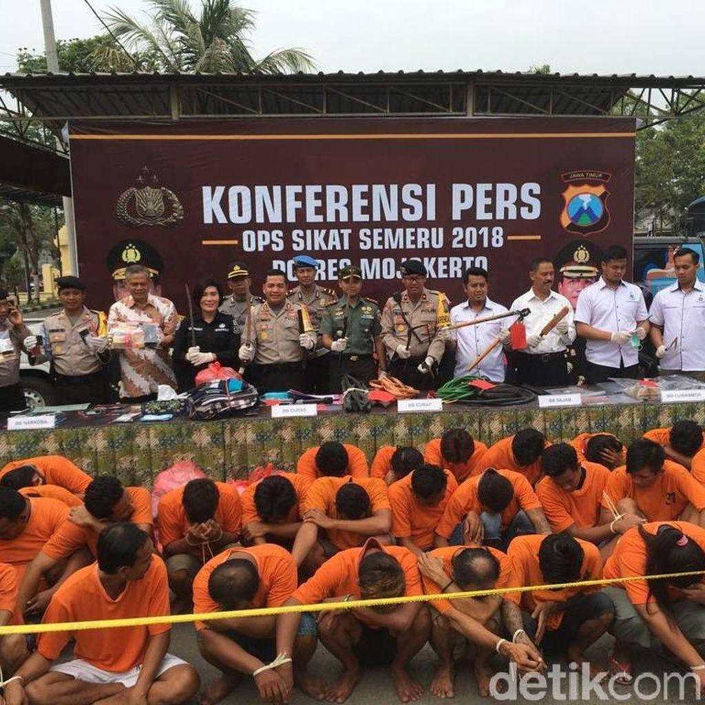 Kasus Pencurian Dominasi Kejahatan di Mojokerto
