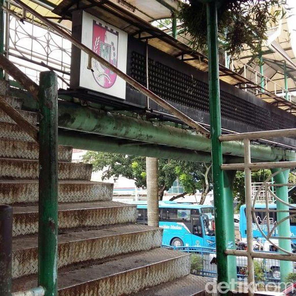 Pemkot Perbaiki JPO Karatan di Pekanbaru yang Telan Korban Jiwa