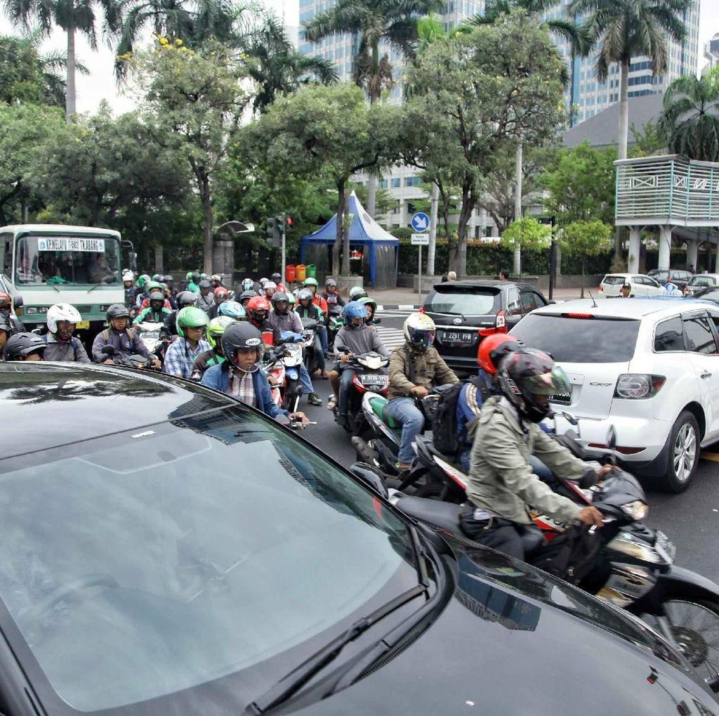 Kendaraan Luar Jakarta Juga Langgar Lalu Lintas dalam Tilang CCTV