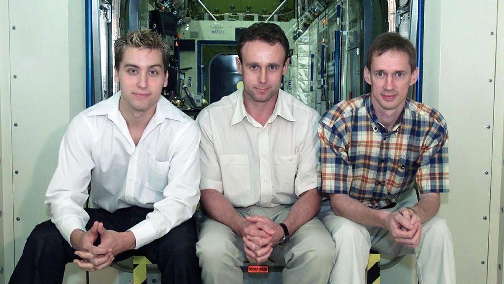 Masih ingat dengan grup musik NSYNC? Anggota boy band tersebut, Lance Bass (kiri), ternyata sempat diproyeksikan untuk bisa jadi astronot. (Foto: Getty Images)