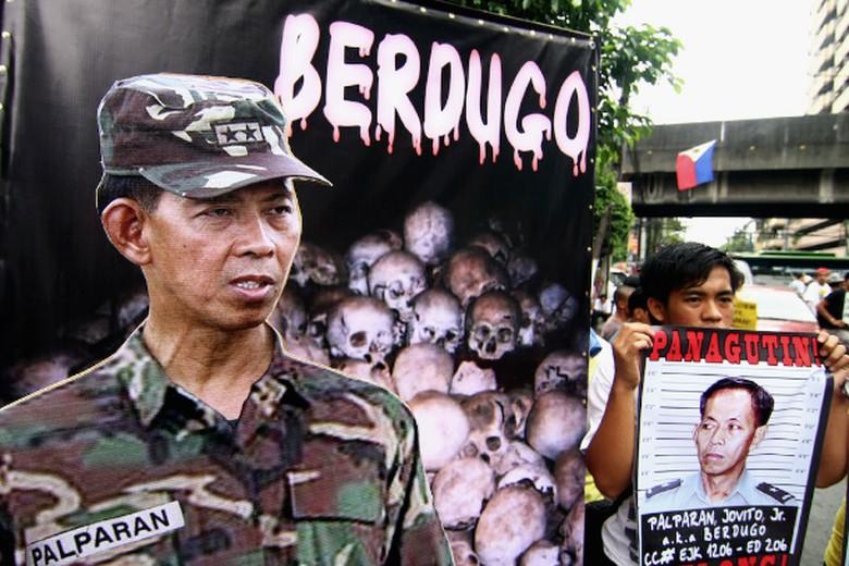 Palparan, Jenderal Penculik dari Filipina Dibui Seumur Hidup
